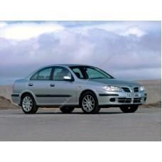 Силиконовая тонировка на статике для Nissan Almera N16 2000-2006