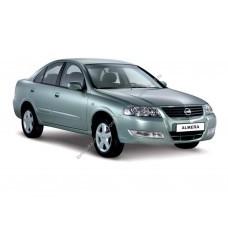 Силиконовая тонировка на статике для Nissan Almera Classic 2006, седан, 1 поколение, B10 (03.2006 - 11.2012)