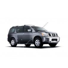 Силиконовая тонировка на статике для Nissan Armada 1 поколение, WA60 (2004 - 02.2016)