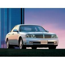 Силиконовая тонировка на статике для Nissan Cedric (Gloria) (34куз) 1999-2004
