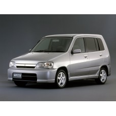 Силиконовая тонировка на статике для Nissan Cube 1998-2002
