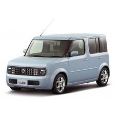 Силиконовая тонировка на статике для Nissan Cube 2002-2008