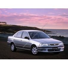 Силиконовая тонировка на статике для Nissan Sunny 1997-2004