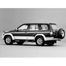 Силиконовая тонировка на статике для Nissan Terrano R50 1995-2002