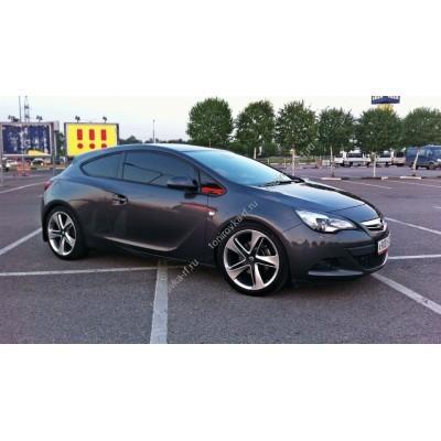Купить силиконовую тонировку на статике для Opel Astra J купе 2010-н.в. можно в магазине Тонировка-РФ.ру