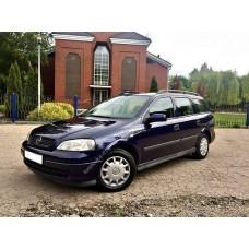 Силиконовая тонировка на статике для Opel Astra G 1998-2005