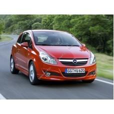 Силиконовая тонировка на статике для Opel Corsa 3d 2006-2014