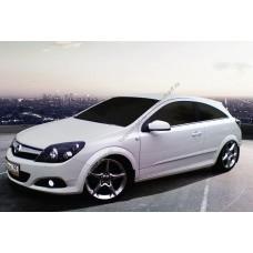 Силиконовая тонировка на статике для Opel Astra H coupe 2005-2010
