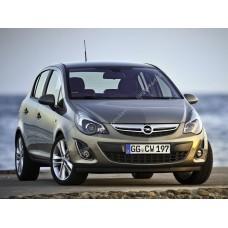 Силиконовая тонировка на статике для Opel CORSA 5d 2006-2014