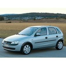 Силиконовая тонировка на статике для Opel Corsa 5d 2000-2006