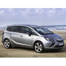 Силиконовая тонировка на статике для Opel Zafira С 2011-2015
