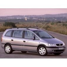 Силиконовая тонировка на статике для Opel Zafira A 1999-2005