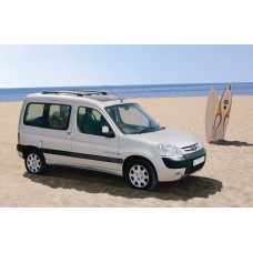 Силиконовая тонировка на статике для Peugeot Partner 1 поколение 1997-2008