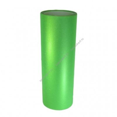 Пленка для фар Алмазная крошка - Зеленая