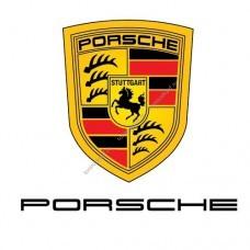 Каркасные автошторки на Porsche