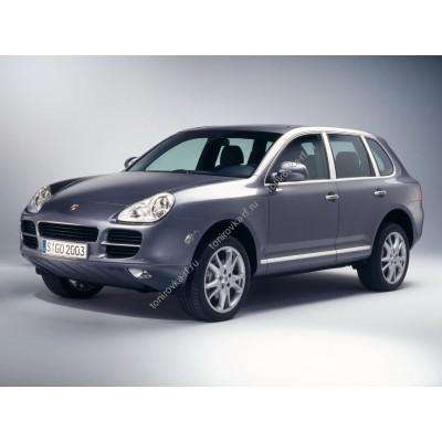 Купить силиконовую тонировку на статике для Porsche Cayenne 1 поколение (2002-2010) можно в магазине Тонировка-РФ.ру