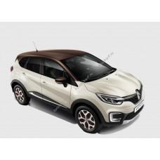 Силиконовая тонировка на статике для Renault Kaptur - I поколение, 2016 - н.в. с форточкой