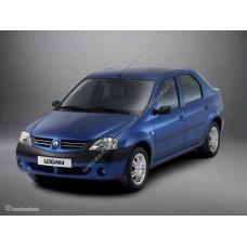 Силиконовая тонировка на статике для Renault Logan 2004-2016