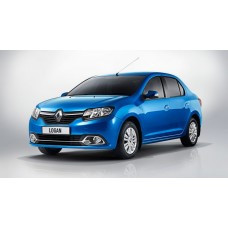 Силиконовая тонировка на статике для Renault Logan 2014-н.в.