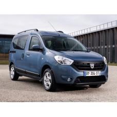 Силиконовая тонировка на статике для Renault Dokker 2012, минивэн, 1 поколение (11.2012 - н.в.)