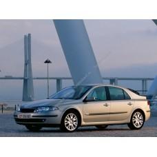 Силиконовая тонировка на статике для Renault Laguna 2001, лифтбек, 2 поколение, X74 (03.2001 - 2008)