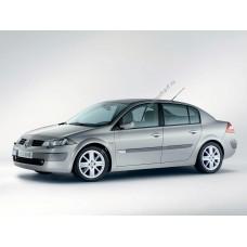 Силиконовая тонировка на статике для Renault Megan 2 поколение 2002-2009