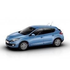 Силиконовая тонировка на статике для Renault Megan 3 поколение 2008-2016