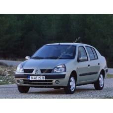Силиконовая тонировка на статике для Renault Symbol, 1 поколение 1999-2008
