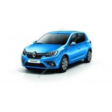 Силиконовая тонировка на статике для Renault Sandero 2 поколение