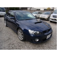 Силиконовая тонировка на статике для Subaru Legacy B4 (BL5) 2003-2009