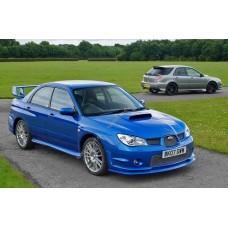 Силиконовая тонировка на статике для Subaru Impreza WRX 2000-2007