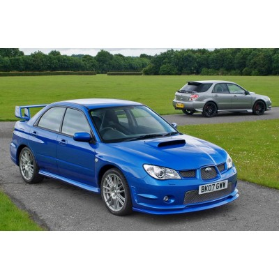 Купить силиконовую тонировку на статике для Subaru Impreza WRX 2000-2007 2 поколение можно в магазине Тонировка-РФ.ру