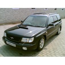 Силиконовая тонировка на статике для Subaru Forester 1 поколение, SF (1997 - 01.2002)
