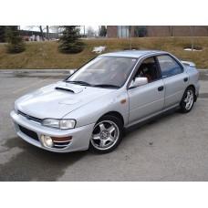 Силиконовая тонировка на статике для Subaru Impreza 1 поколение GS (1992-2000)
