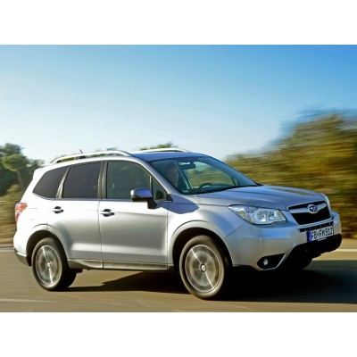 Купить силиконовую тонировку на статике для Subaru Forester 4 поколение, SJ (10.2012 - 2018) можно в магазине Тонировка-РФ.ру