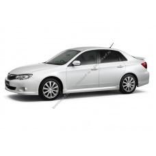 Силиконовая тонировка на статике для Subaru Impreza 3 поколение, GH (04.2007 - 06.2012)