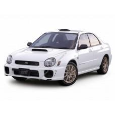 Силиконовая тонировка на статике для Subaru Impreza 2 поколение (GG,GD) 2000-2007