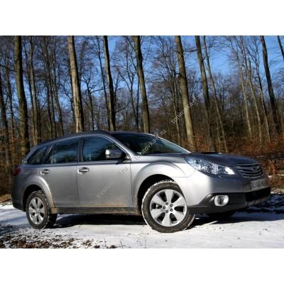 Купить силиконовую тонировку на статике для Subaru Outback 4 поколение 2009-2015 можно в магазине Тонировка-РФ.ру