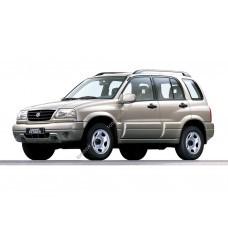 Силиконовая тонировка на статике для Suzuki Grand Vitara 5d (Escudo) 1 поколение 1997 - 2005
