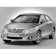 Силиконовая тонировка на статике для Toyota Camry XV40 2006-2011 7 поколение
