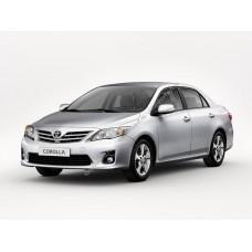 Силиконовая тонировка на статике для Toyota Corolla Х поколение (Е150), 2006-2013