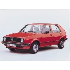 Силиконовая тонировка на статике для Volkswagen Golf 2 1983-1992
