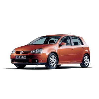 Купить силиконовую тонировку на статике для Volkswagen Golf 5 5d 2003-2008 можно в магазине Тонировка-РФ.ру