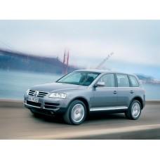 Силиконовая тонировка на статике для Volkswagen Touareg 1 поколение 2002-2010