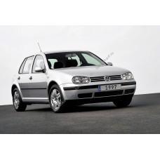 Силиконовая тонировка на статике для Volkswagen Golf 4 5d 1997-2005