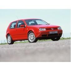 Силиконовая тонировка на статике для Volkswagen Golf 4 3d 1997-2005