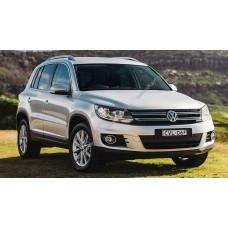 Силиконовая тонировка на статике для Volkswagen Tiguan I поколение 2006-2017