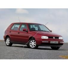 Силиконовая тонировка на статике для Volkswagen Golf 3 1991-1997