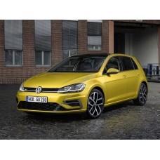 Силиконовая тонировка на статике для Volkswagen Golf 7 2012-2017