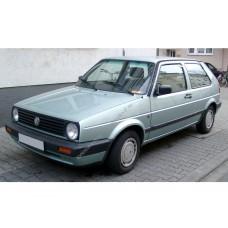 Силиконовая тонировка на статике для Volkswagen Golf хэтчбек 3 двери купе, 2 поколение, Mk2 (08.1983 - 09.1991)